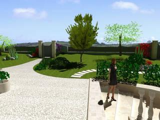 Villa a Bastia Umbra Case in stile mediterraneo di Planet G Mediterraneo