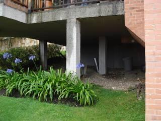 Gazzebo + Terraza B17:  de estilo  por Vertice Oficina de Arquitectura, Minimalista