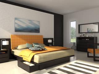 Dormitorio de Michael Thonet Moderno