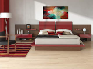 Dormitorio Mitho:  de estilo  por Michael Thonet
