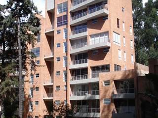 Edificio Terrazas de Medina: Casas de estilo  por Vertice Oficina de Arquitectura, Moderno