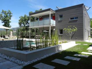 Maisons modernes par Construir con Baufritz Moderne