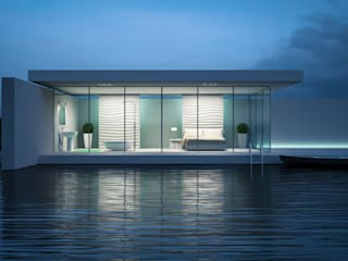 Casas de estilo minimalista de Jonathan Sabbadini Minimalista