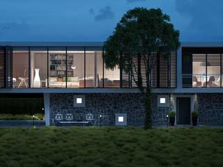 Casas de estilo moderno de Jonathan Sabbadini Moderno
