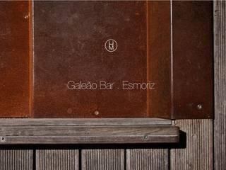 Galeão Bar por ad+r Creative Studio Moderno