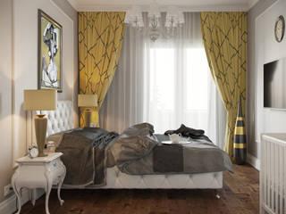 ЖК Речной: Спальни в . Автор – АРТИДОМ