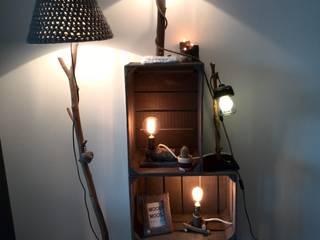 hout, wol, licht, liefde:   door WoodWoolDesign