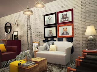 Rotoarquitectura Living roomAccessories & decoration