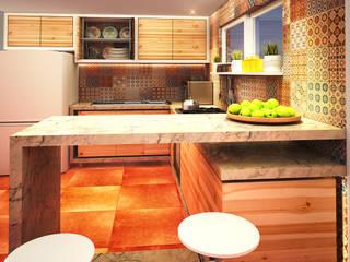 Modern Kitchen by Rotoarquitectura Modern