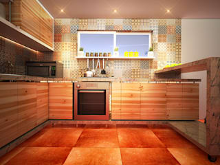 Kitchen by Rotoarquitectura, Modern