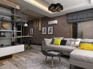 Living room by Ceren Torun Yiğit , Minimalist