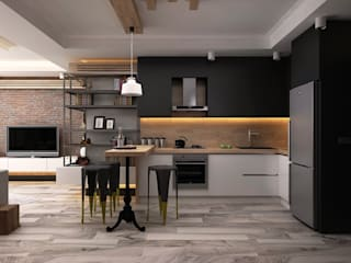 Ceren Torun Yiğit Minimalist kitchen