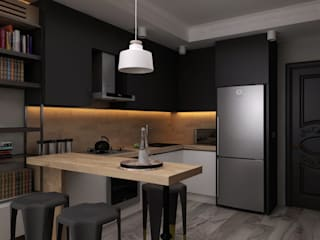 Cocinas de estilo minimalista por Ceren Torun Yiğit