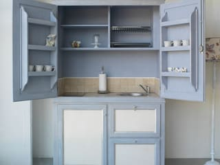 LA BOTTEGA DEL FALEGNAME Kitchen Solid Wood Blue