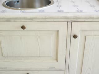 LA BOTTEGA DEL FALEGNAME Kitchen Solid Wood White