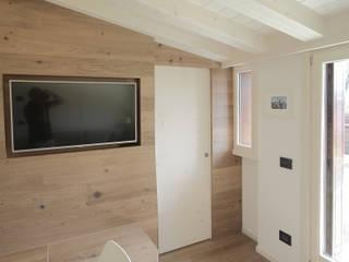 Progetti luigi bello architetto Modern Corridor, Hallway and Staircase
