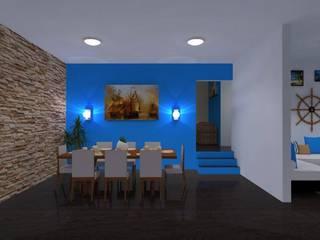 Ruang Makan Modern Oleh DISEÑOS G2 Modern
