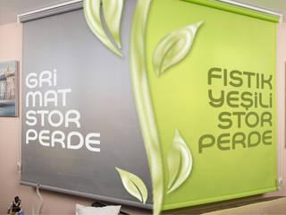 Perdemania – Fıstık Yeşili Stor Perde:  tarz
