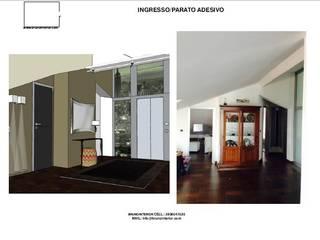 La mansarda diventa loft Ingresso, Corridoio & Scale in stile moderno di brunointerior Moderno