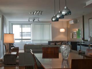 ARQdonini Arquitetos Associados Ruang Makan Modern