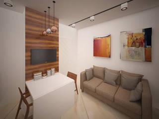 """квартира для холостяка в стиле """"Минимализм"""": Кухни в . Автор – NewHands,"""