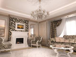 Wohnzimmer von Студия Маликова