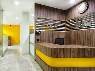 TKWS OFFICE:  Offices & stores by Total Interiors Solutions Pvt. ltd.