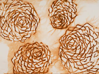Rust Prints: modern  door MOoink, Modern