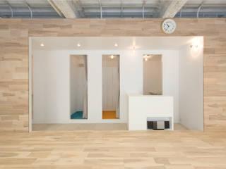 Espacios comerciales de estilo moderno de seets一級建築士事務所 Moderno