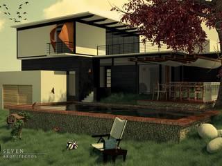 Jardin de style de style Moderne par Seven Arquitectos