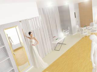 Loja de Noivas   Modelação e Renderização 3D por Rúben Ferreira   Arquitecto Moderno