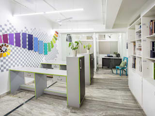 Offices & stores by Total Interiors Solutions Pvt. ltd. , Eclectic