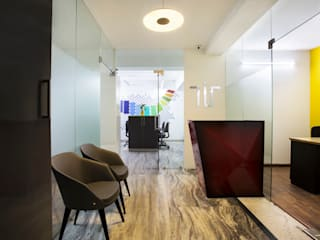 TOTAL INTERIORS STUDIO:  Offices & stores by Total Interiors Solutions Pvt. ltd.