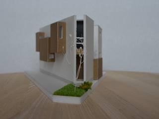 三角敷地の家: T's lab一級建築士事務所が手掛けたです。,