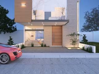 Maisons modernes par alfa studio arquitectura Moderne