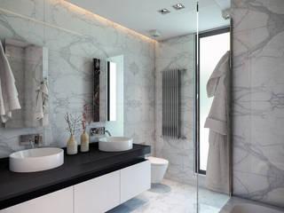 ATLAS TERAS | Mersin | Turkey Modern Banyo BUUN MOTTO ARCHITECTS Modern