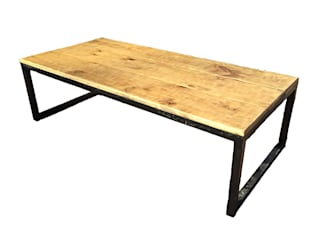 ZUR Basque Furniture Living roomSide tables & trays Parket Wood effect