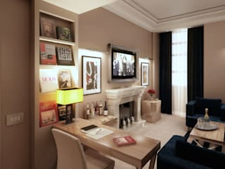 """The First"" Luxury Art Hotel, Roma:  in stile  di 3dlabor"