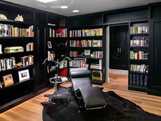 modern Study/office by Belén Sueiro