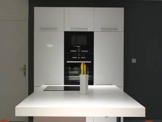 Appartement Cuisine moderne par Atrmosphere Agencement Moderne