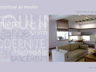 Metamorphose au Moulin:  de style  par Dominique Dorseuil Design