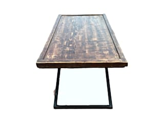 ZUR Basque Furniture Living roomSide tables & trays Solid Wood