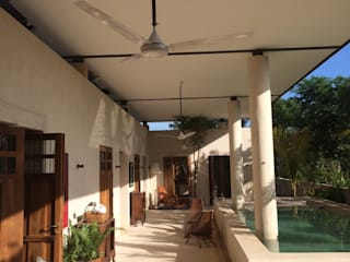 Kolam Renang Tropis Oleh Degetau Arquitectura y Diseño Tropis