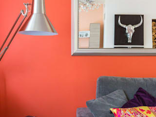 Séjour: Salon de style  par Katia Rocchia Home Designer