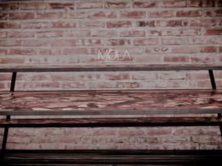 Estantres Dj:  de estilo  por MOLA