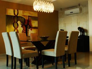 Salas de jantar modernas por PORTO Arquitectura + Diseño de Interiores Moderno