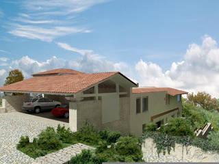 Casa Tres Marias Casas rústicas de Boué Arquitectos Rústico