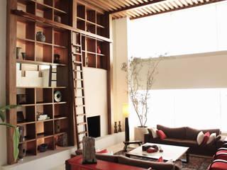 Departamento Frondoso Lomas Country Club Casas modernas de Boué Arquitectos Moderno
