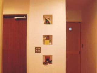 Walls by 株式会社 atelier waon, Modern