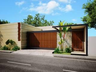 現代房屋設計點子、靈感 & 圖片 根據 TOAR INGENIERIA Y DISEÑO 現代風
